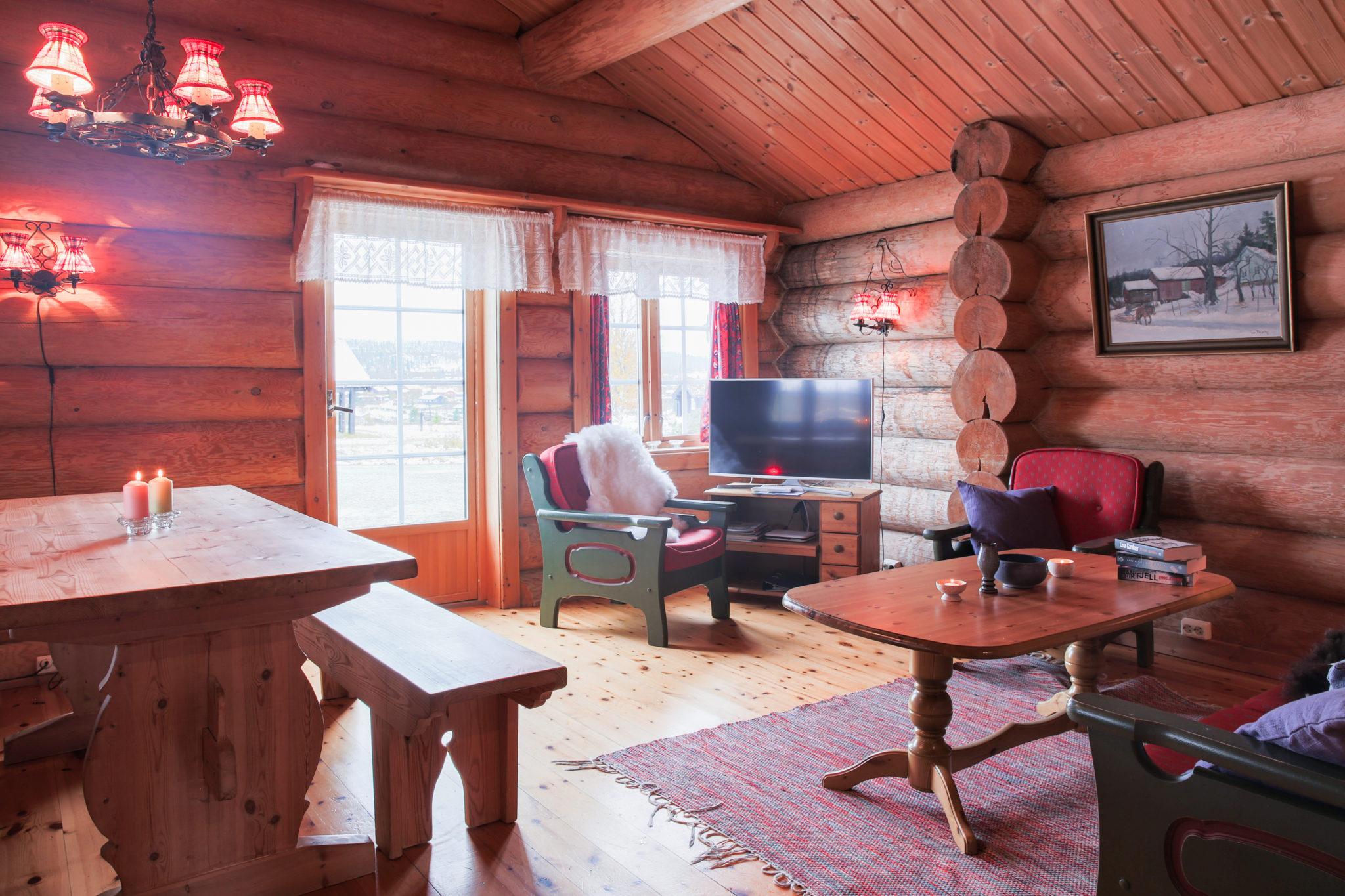 Stue i Dynjefjell. Foto: Tøri Gjendal